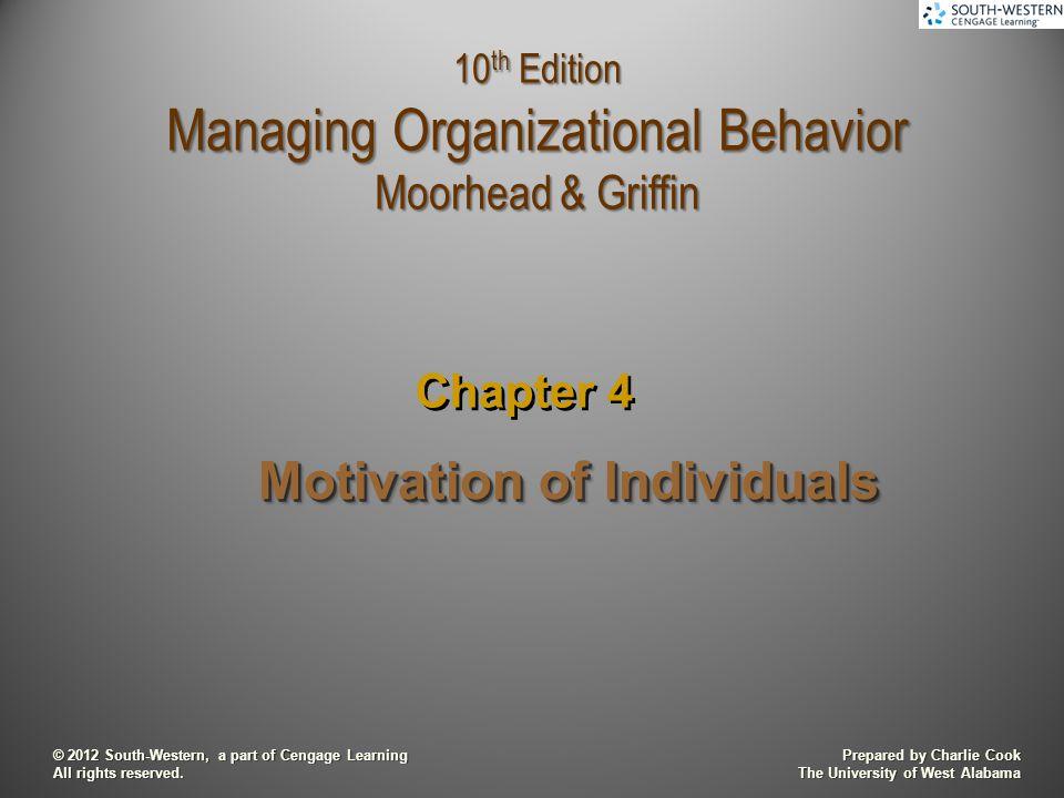 organisational behavior and analysis motivation and