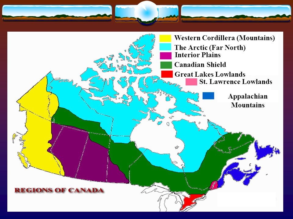 CANADA'S PHYSICAL REGIONS - ppt video online download