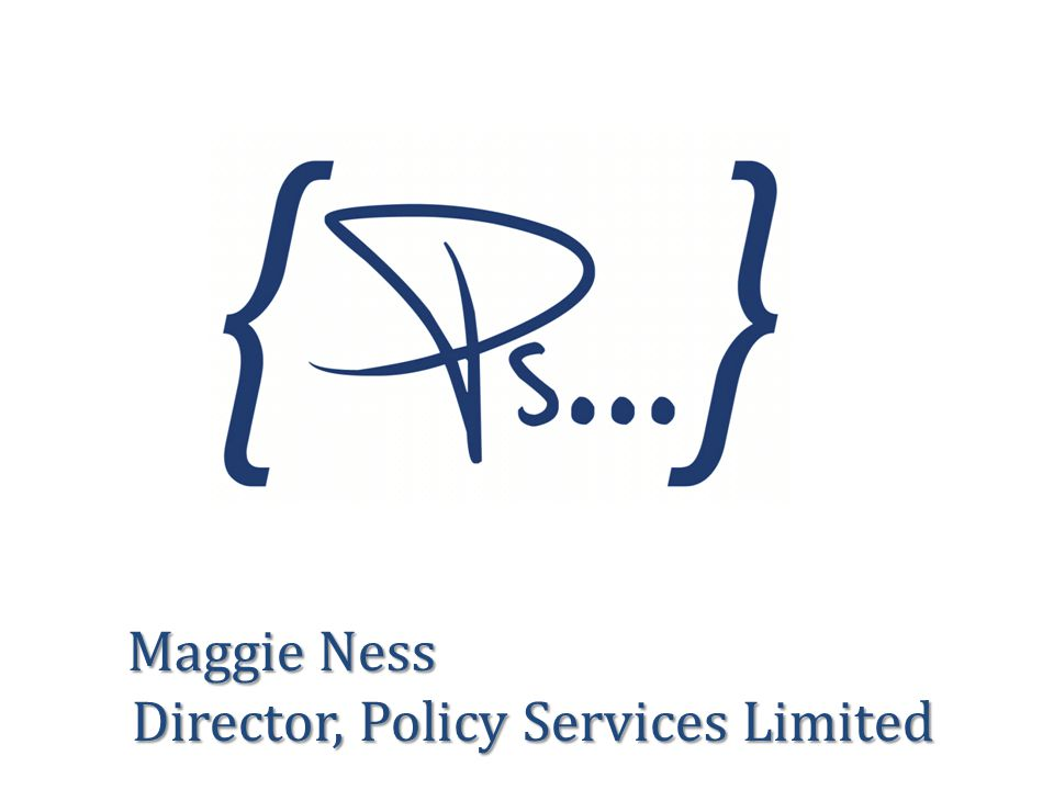 Director, Policy Services Limited