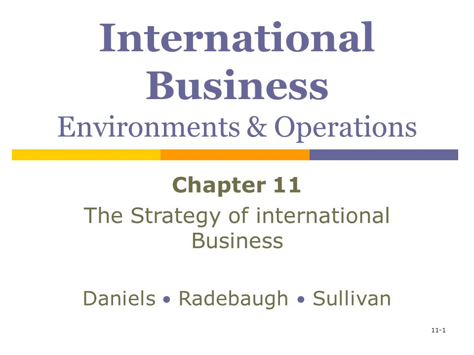 forces in international business From strategy to business models and to tactics ramon casadesus-masanell  of course not all business model innovations are it-driven other forces, such as.