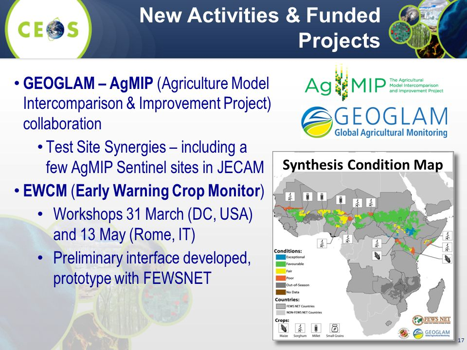 New Activities & Funded Projects