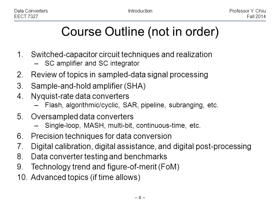 inb 666 fall 2014 course outline