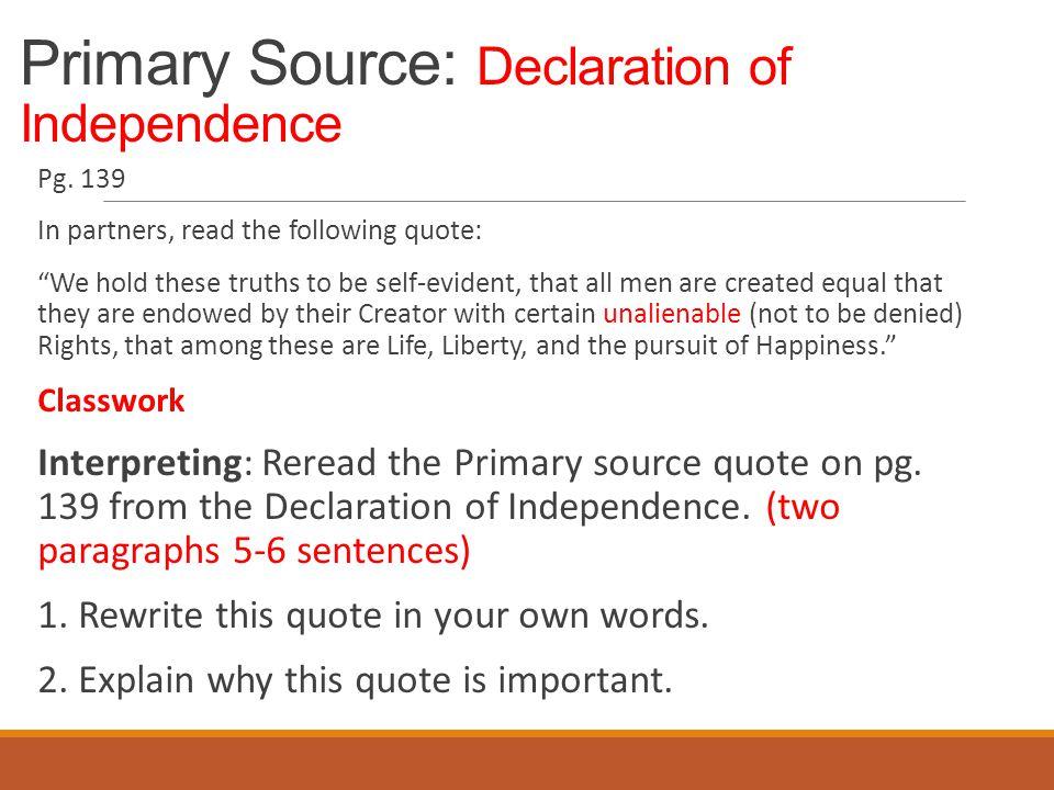 the declaration of independence ppt video online download. Black Bedroom Furniture Sets. Home Design Ideas
