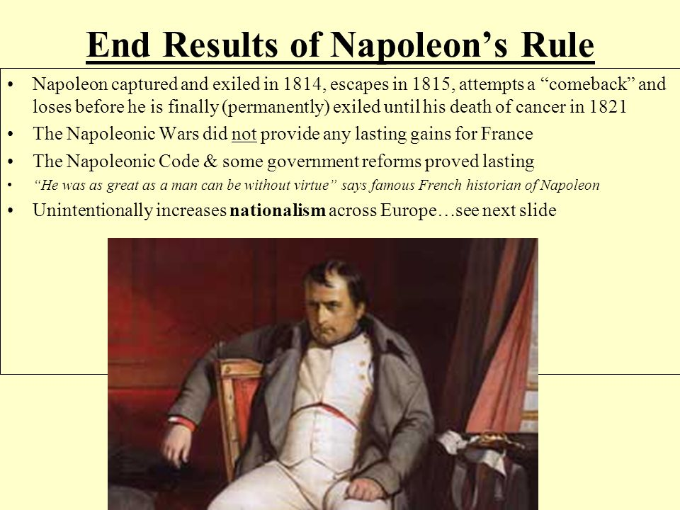 napoleon bonaparte s rule of france and Napoleon bonaparte rose to prominence by taking control of france after the  success of the french revolution.