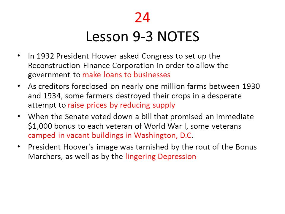 24 Lesson 9-3 NOTES