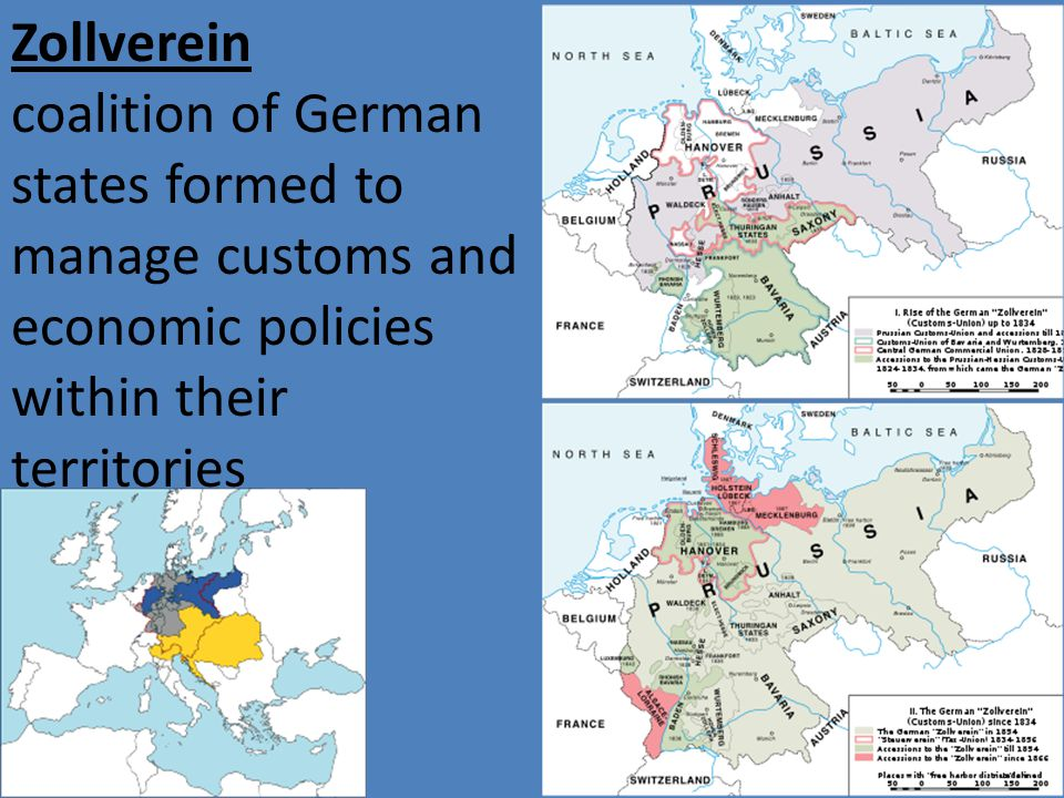 Building A German Nation Ppt Video Online Download - Zollverein germany map