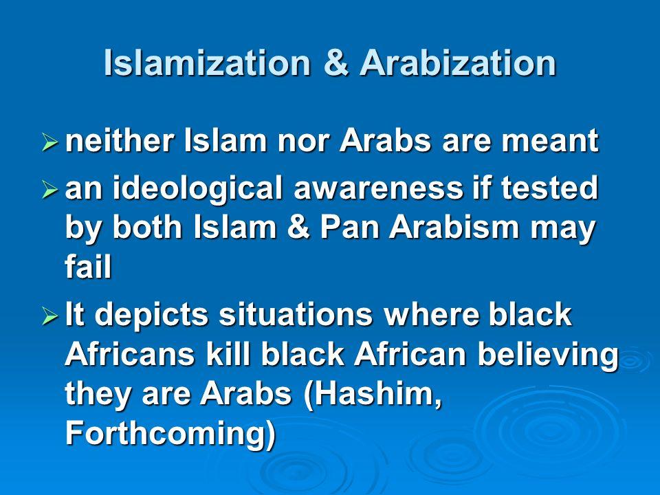 Islamization & Arabization