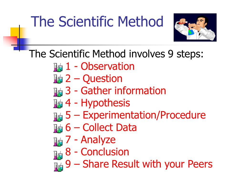 First Steps in the Scientific Method