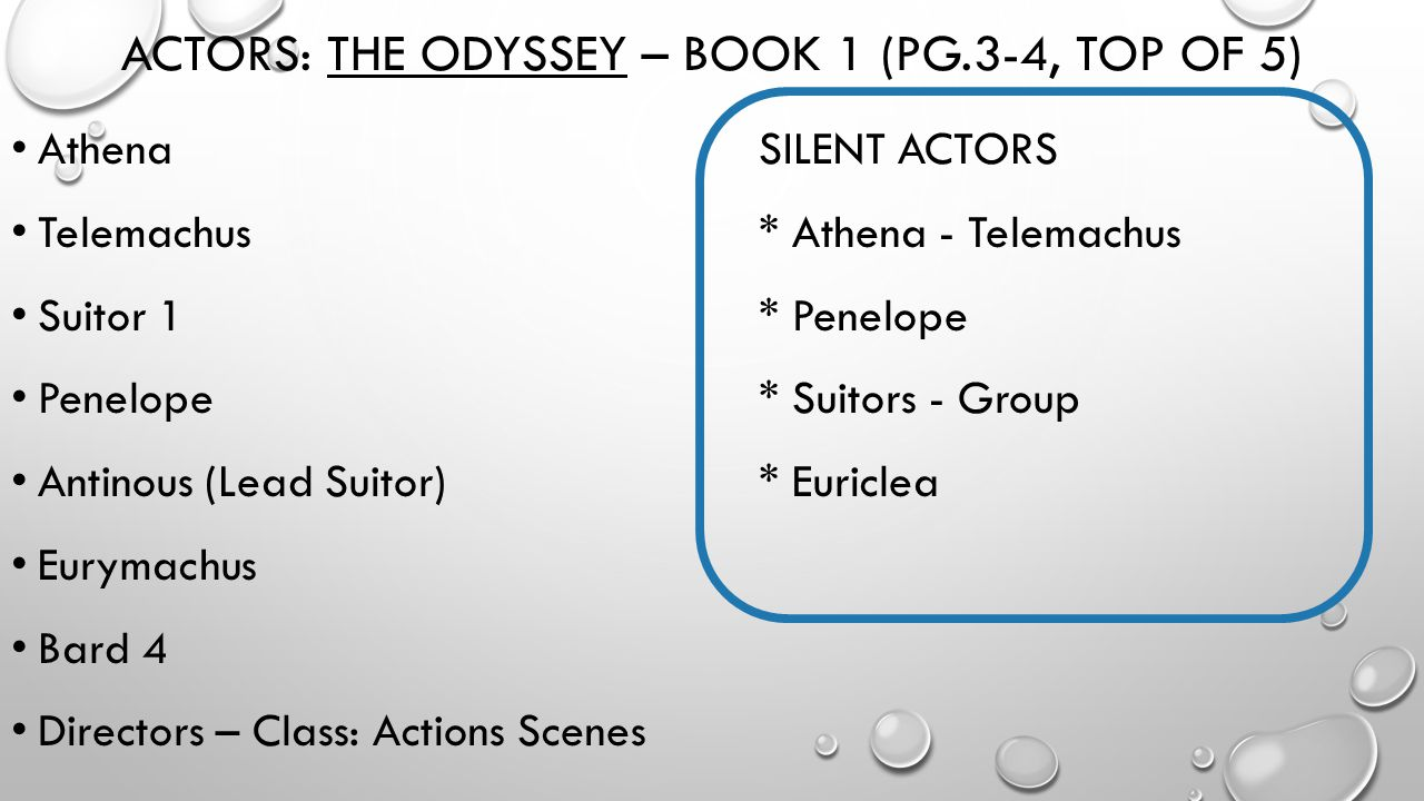 the character of telemachus in the odyssey an epic poem by homer Telemachus is the son of odyssey and his role in the poem is very important through the character of telemachus the author shows differences between 'beginning heroism' and 'transcendent heroism'.