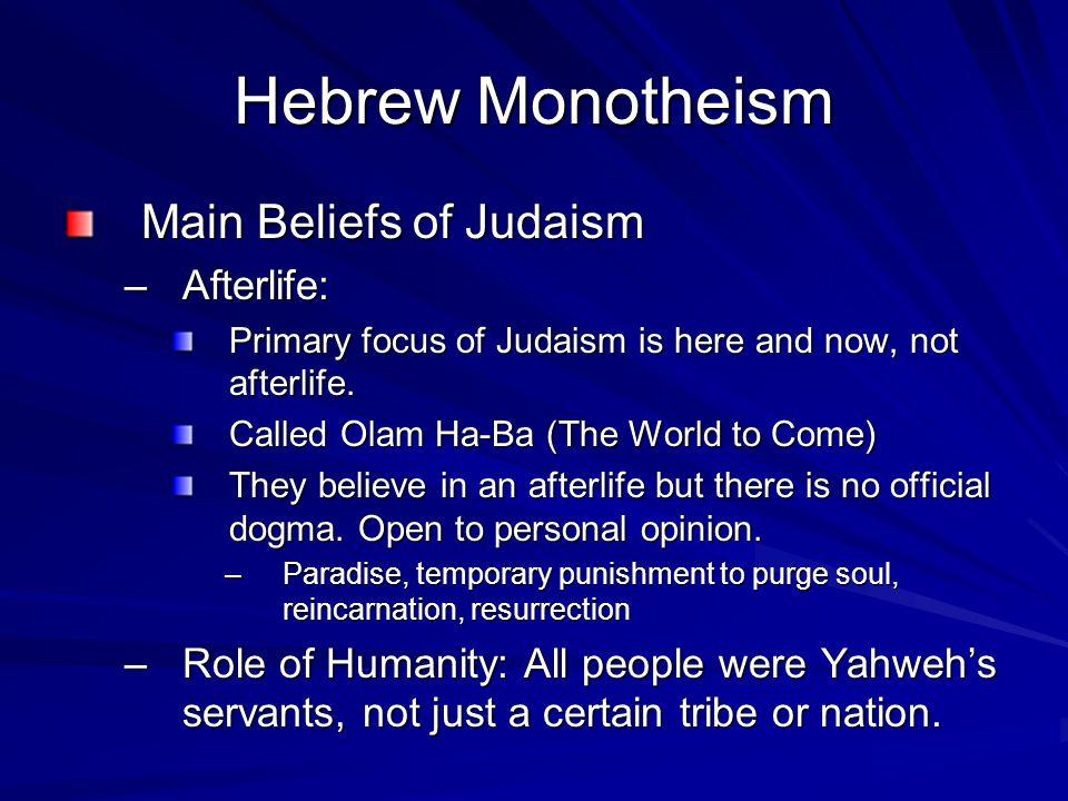 Eastern Mediterranean Societies: Monotheism, Trade, and ...