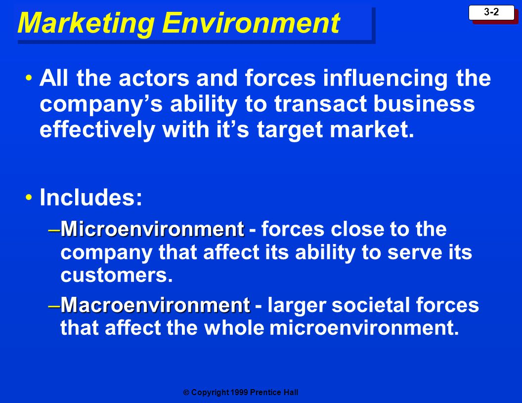 what forces in the marketing environment Environment porter's 5 forces—competitor  this became known as porter's five forces analysis and it provides a model that enables  known as 'marketing.