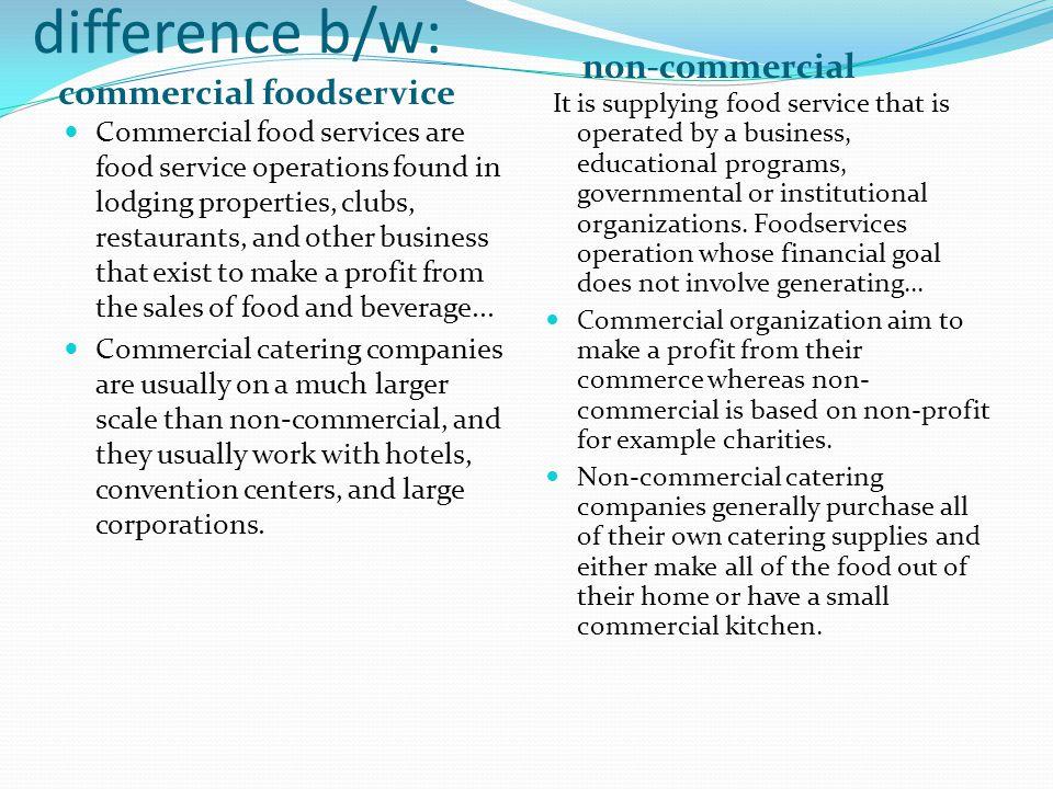 Institutional Food Service Management