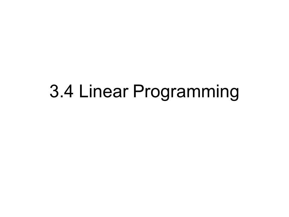 Linear Programming Worksheet The Best and Most Comprehensive – Linear Programming Worksheet