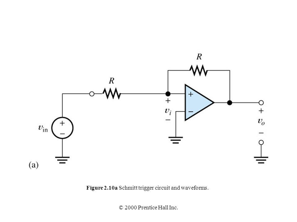 figure 2 1 circuit symbol for the op amp
