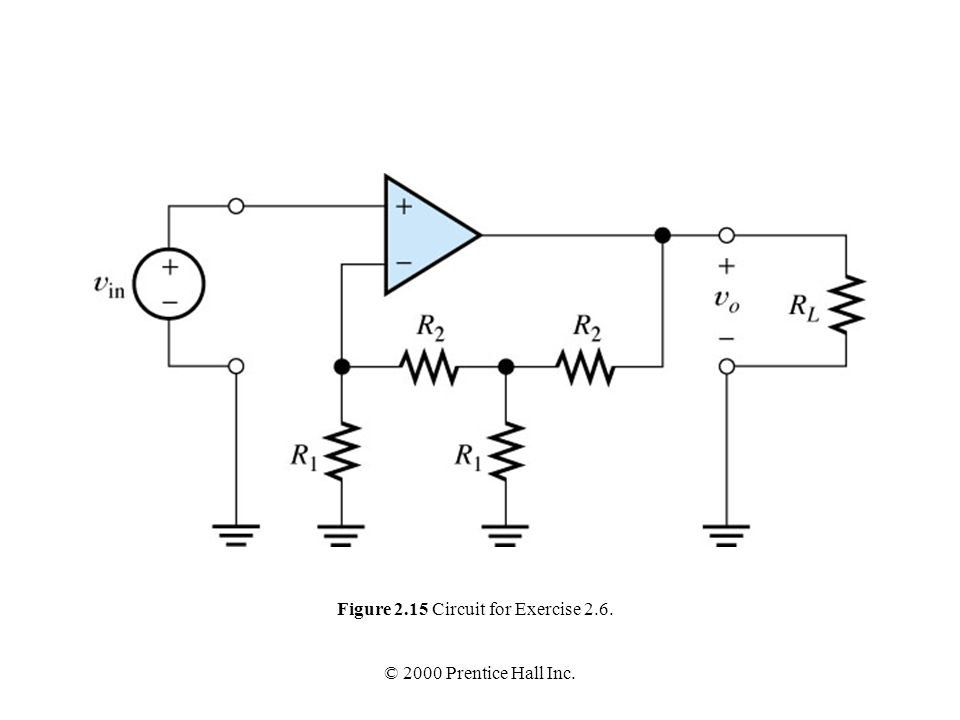 Figure 2.15 Circuit for Exercise 2.6.