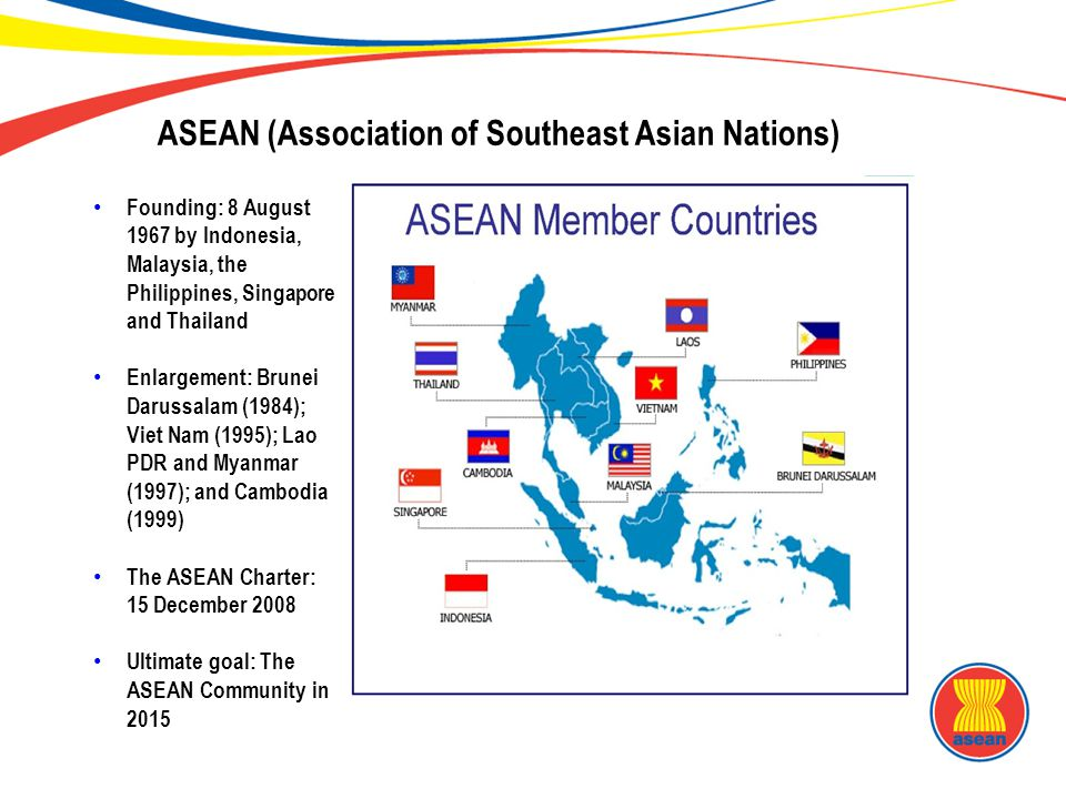 Backgrounder: the Association of Southeast Asian Nations