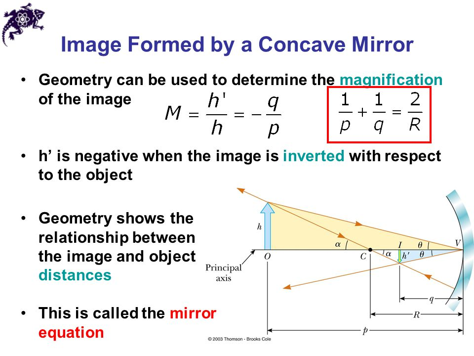 determining the focal length of a concave mirror by locating centre of curvature Geometric centre of a curved mirror is called the vertex (v), and the straight line   object distance is less than the focal length, the image is erect and virtual  (a)  by means of a scale diagram, locate the image and determine its height.