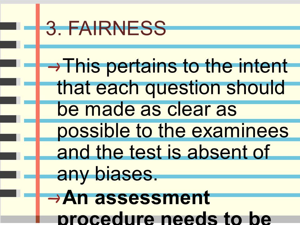 3. FAIRNESS