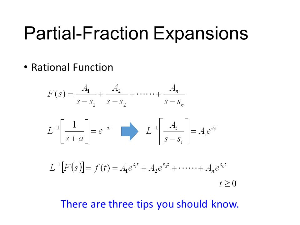 partial fraction The first part is a quick introduction to complex analysis with applications, and  includes discussions such as power series and euler's identity, partial fraction.