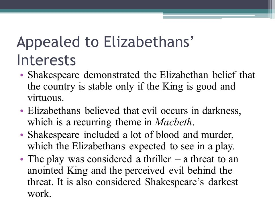 macbeth essay context Macbeth context essays and research papers macbeth context in william shakespeare's macbeth the male characters macbeth , macduff, banquo and duncan really give you and insight in to the time the play was written.