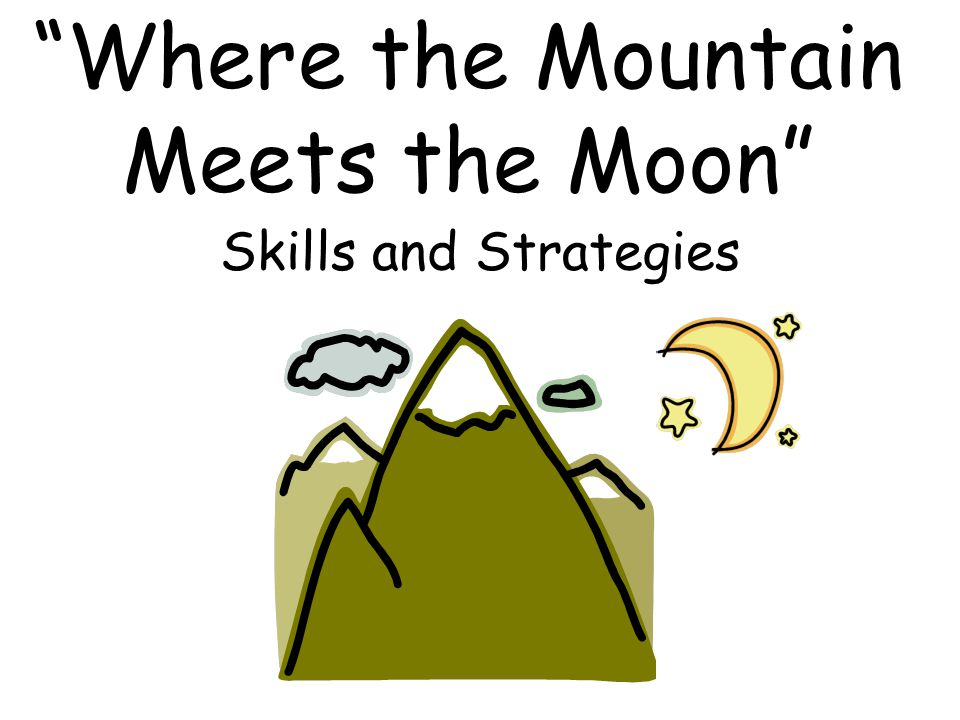 where the mountain meets the moon pdf