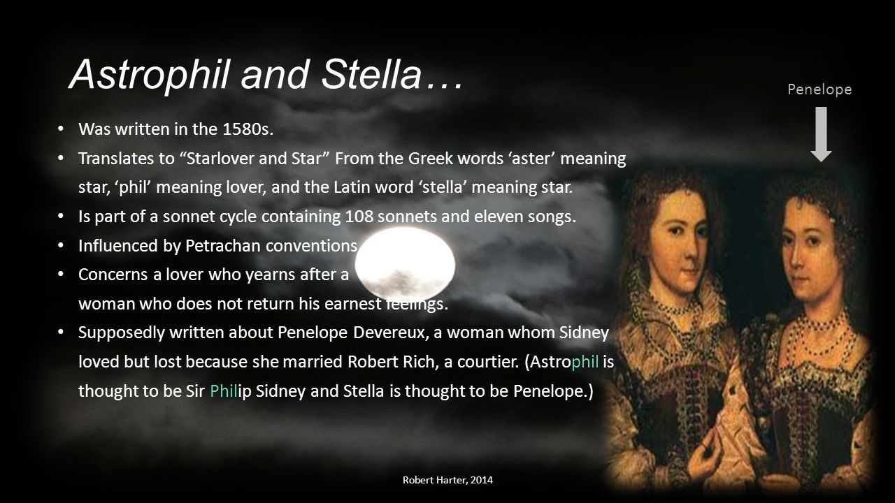 sir philip sidneys sonnet 47 from astrophil and stella Sir philip sidney (1554-1586) sir philip sidney  other sonnets thou blind man's mark, thou fool's self-chosen snare  stella, those fair lines which true .
