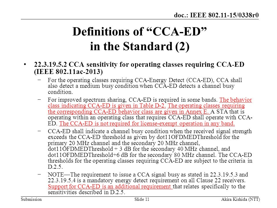 Definitions of CCA-ED in the Standard (2)