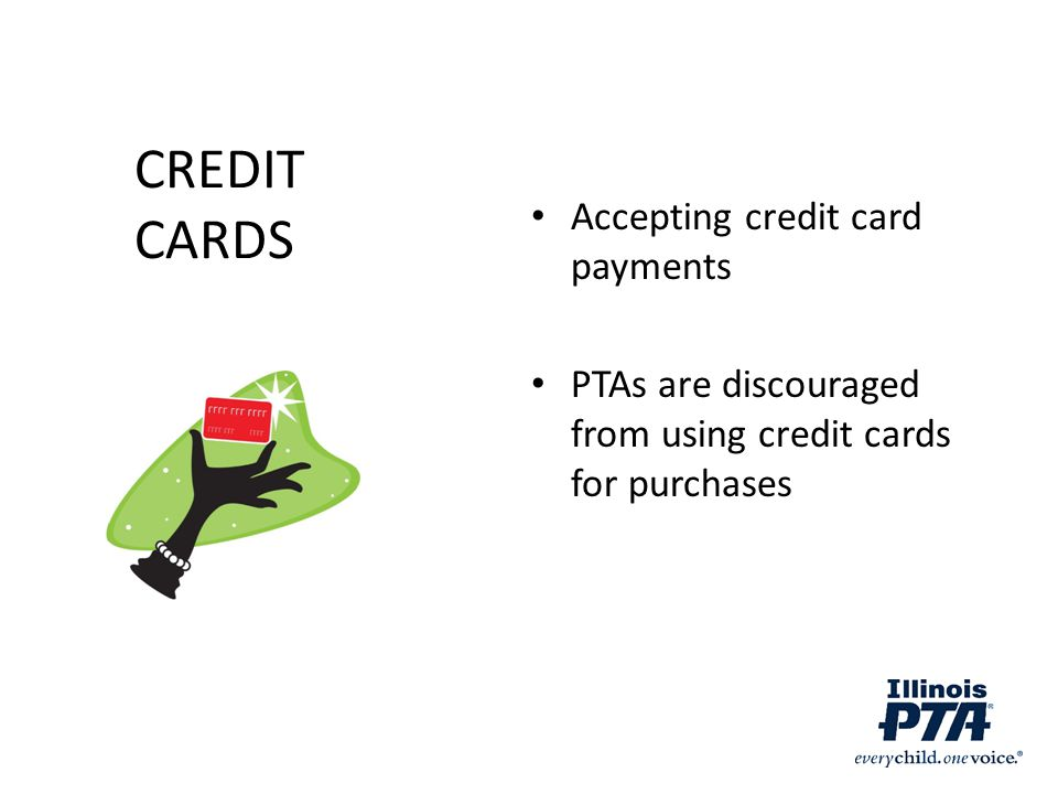 CREDIT CARDS Accepting credit card payments