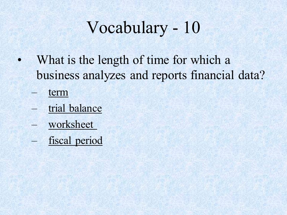 Accounting Skills Test Review ppt video online download – Skills Worksheet Vocabulary Review
