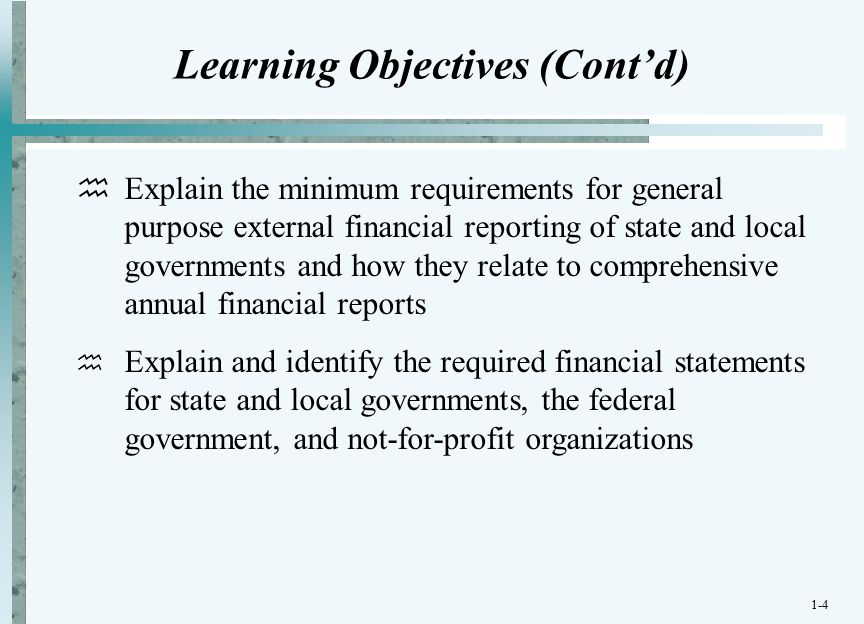 the financial reporting requirements for governmental and nonprofit organizations accounting essay The financial accounting government-nonprofit and/or reduce complexities and costs of financial reporting what organizations are.
