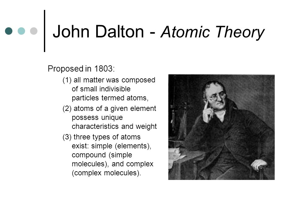 Elements and the periodic table ppt video online download 3 john dalton urtaz Gallery