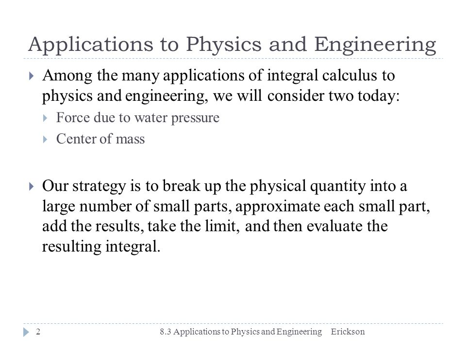 application of calculus in engineering pdf