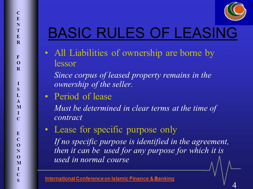 Salient Features Of Islamic Financial Lease  Ppt Video Online Download