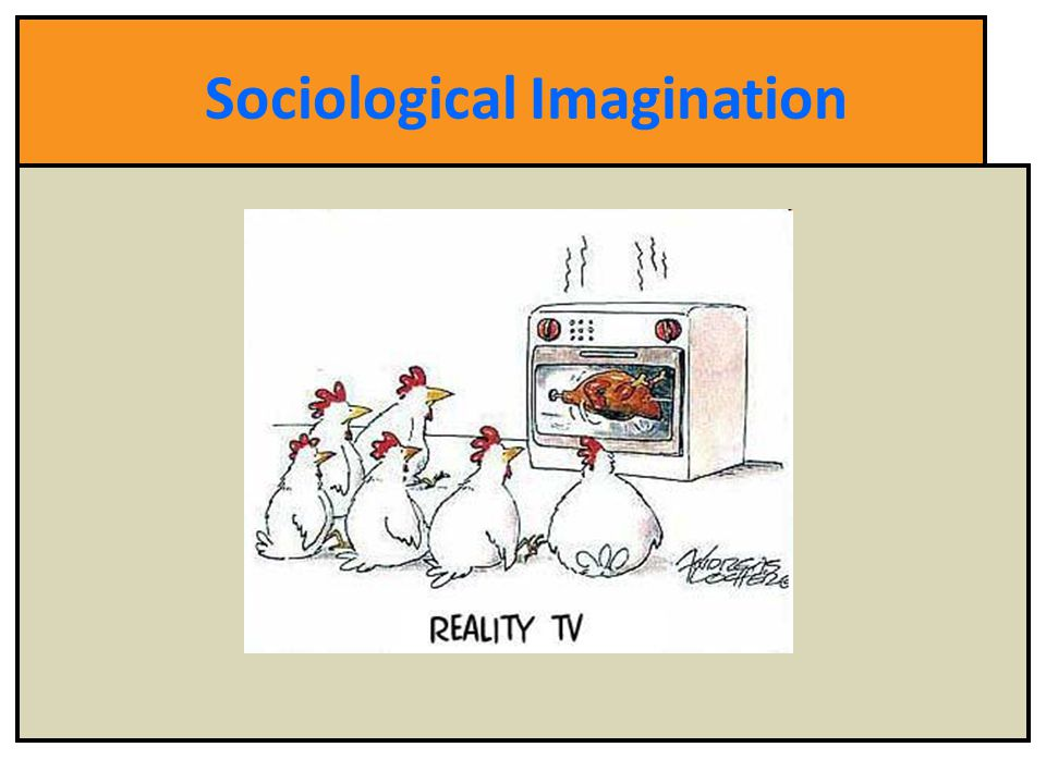 sociological imagnation Mills argues that a sociological imagination is essentially having the ability to grasp the interplay between man and society, biography and history, of self and world (mills 1959) being able to distinguish between personal troubles and greater social issues is the true heart of thinking sociologically.