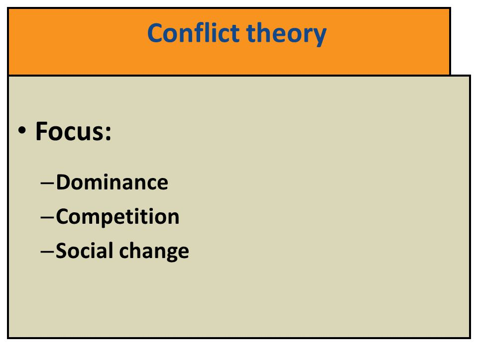 conflict and social change a case Conflict theory: technology, power and social change theorists assert that those with greater power can direct technological and social change to their own advantage (or does not change) as powerful groups act either to alter or to maintain the status quo.