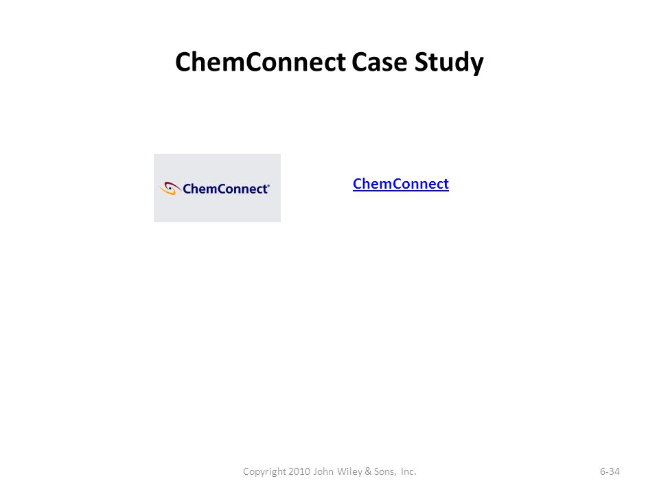 ChemConnect Case Study