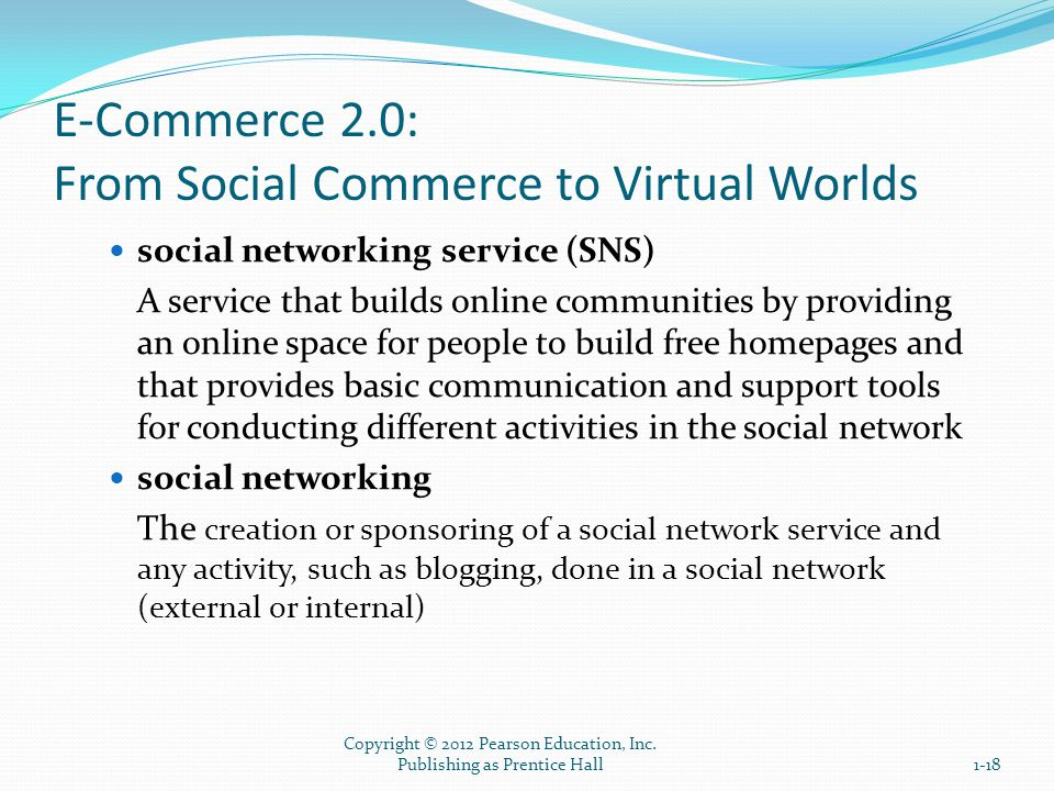 E-Commerce 2.0: From Social Commerce to Virtual Worlds