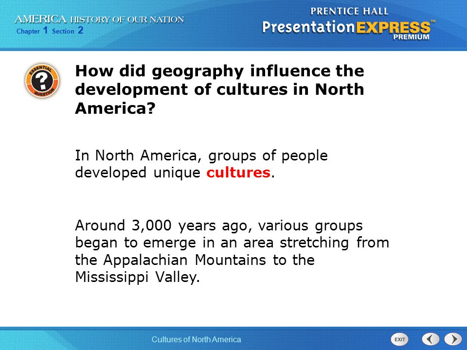 the development of a unique american culture Was colonial culture uniquely american there were never, since the creation of the world, two cases exactly parallel lord chesterfield, in a letter to his son, february 22nd, 1748 colonial culture was uniquely american simply because of the unique factors associated with the development of.