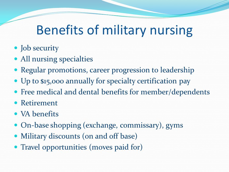 Military And Va Nursing Opportunities Ppt Download