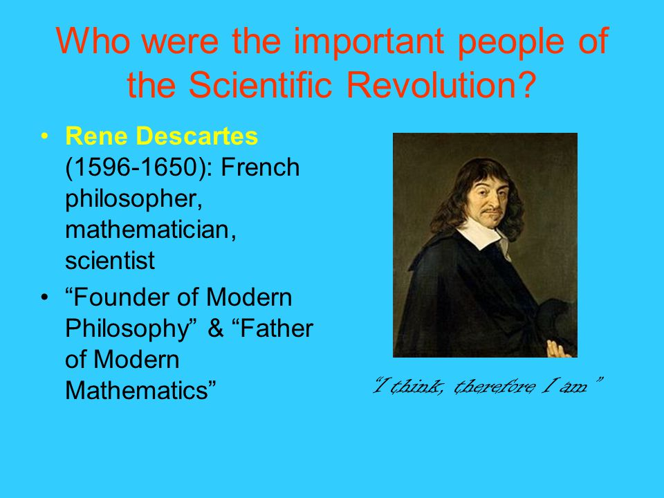 The significance and impact of the scientific revolution