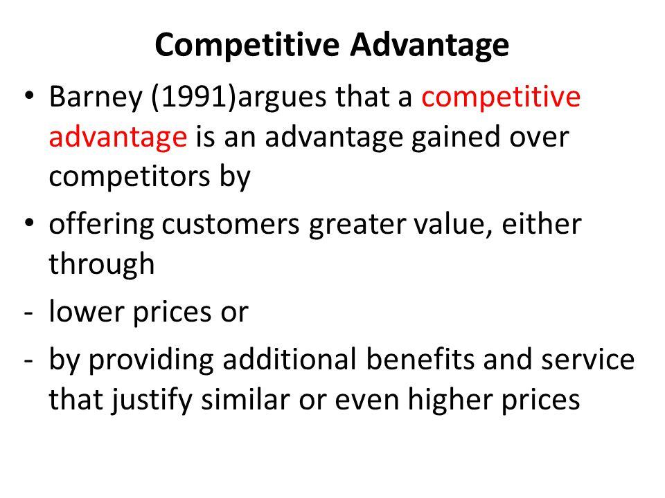strategic management and competitive advantage barney pdf