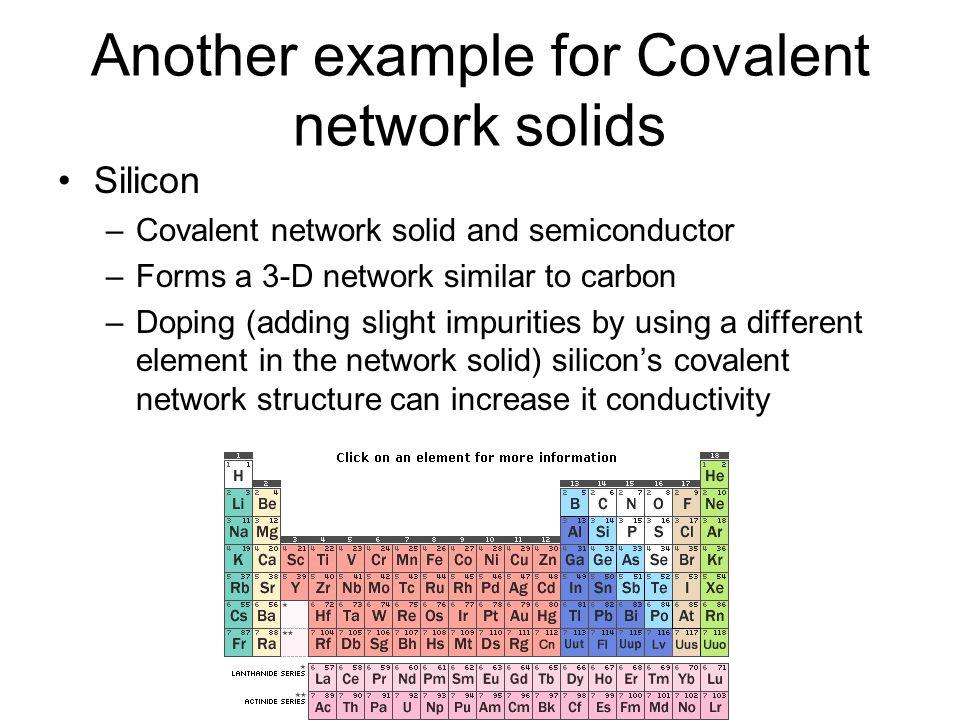 Covalent Solids Structure, Bonding &am...