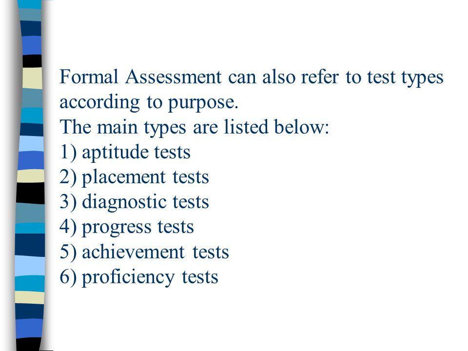 15 Formal Assessment ...