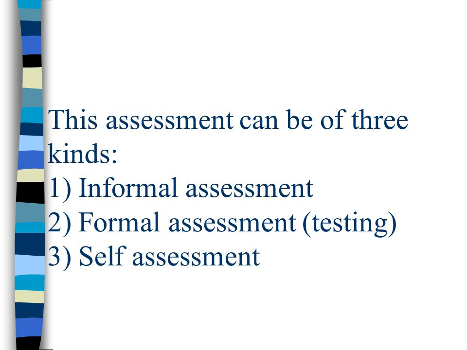 Assessment And Testing In The Classroom. - Ppt Download