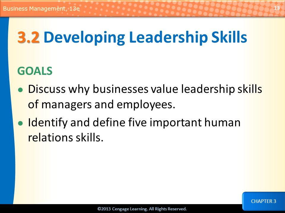 3.2 Developing Leadership Skills