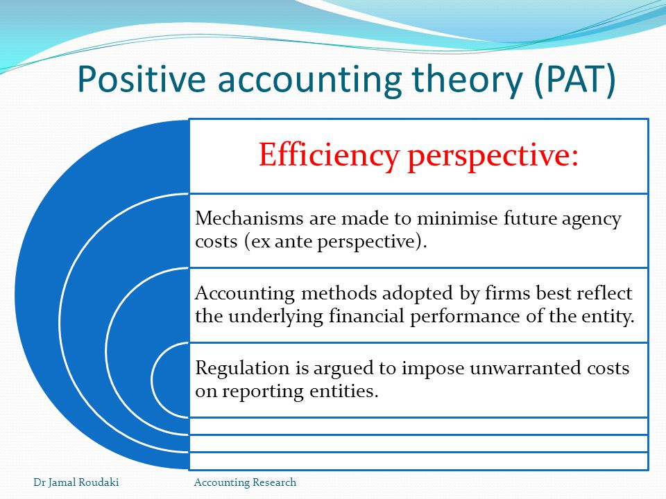 positive accounting theory and banking Banking - importing bank  i am trialing xero today as i have heard a lot of very positive recommendations  your theory sounds right.