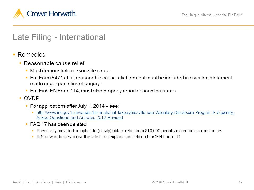 What To Do When You Miss a Filing Deadline - ppt download