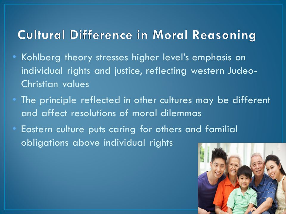 Culture and moral values are they