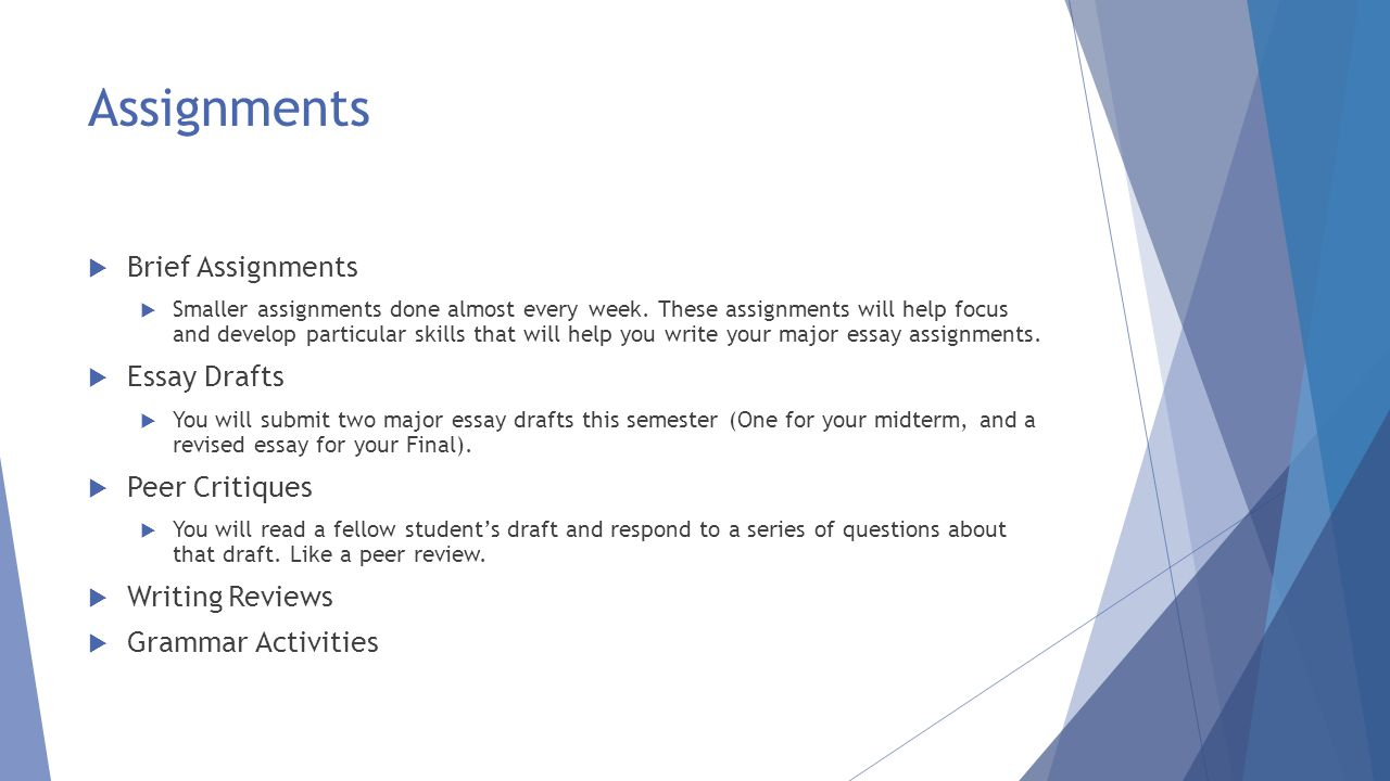 welcome to engl essentials of college rhetoric ppt video  12 assignments