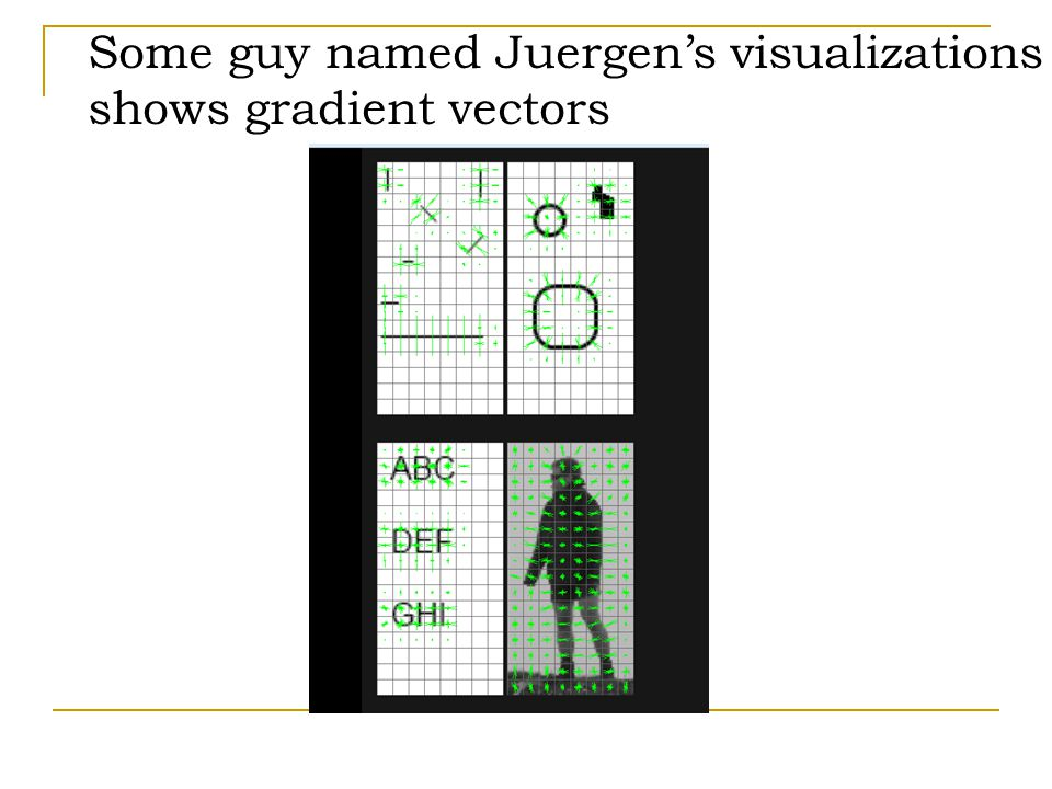 Some guy named Juergen's visualizations